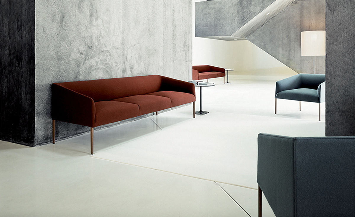 Saari Three Seat Sofa  hivemoderncom