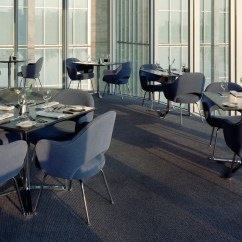 Swivel Rocking Patio Chairs French Art Deco Leather Club Saarinen Executive Arm Chair With Metal Legs - Hivemodern.com
