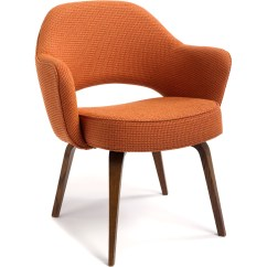 Bubble Club Chair Replica Swings Outdoor Saarinen Executive Arm With Wood Legs Hivemodern Com