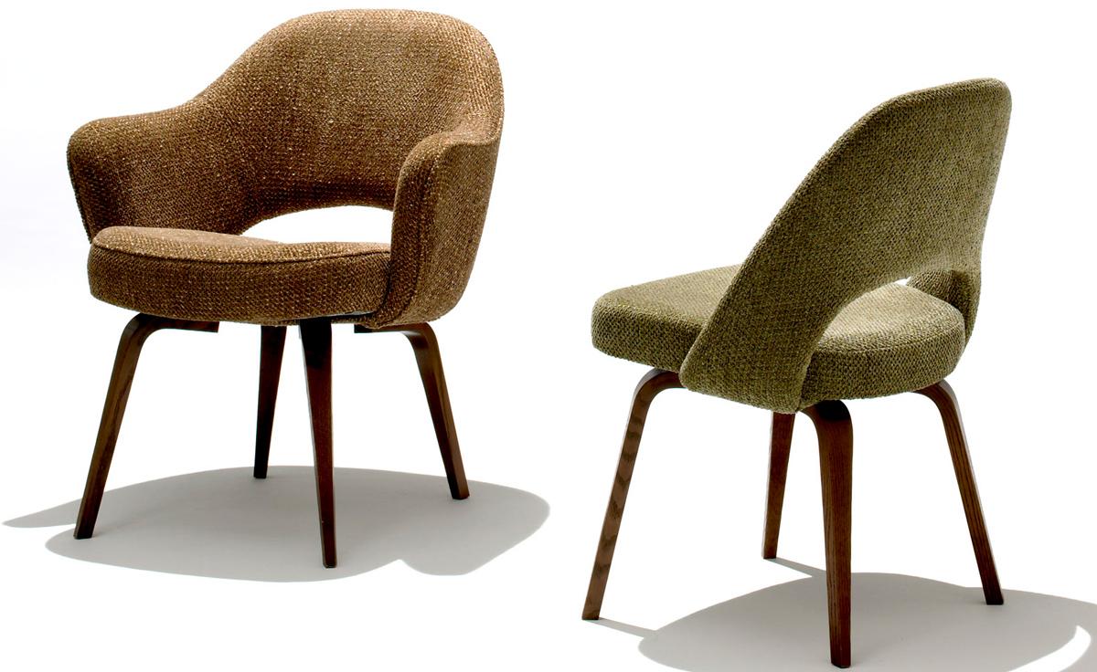 Saarinen Executive Arm Chair With Wood Legs  hivemoderncom