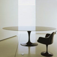 Tulip Table And Chairs High End Office Chair Saarinen Dining Calacatta Marble - Hivemodern.com