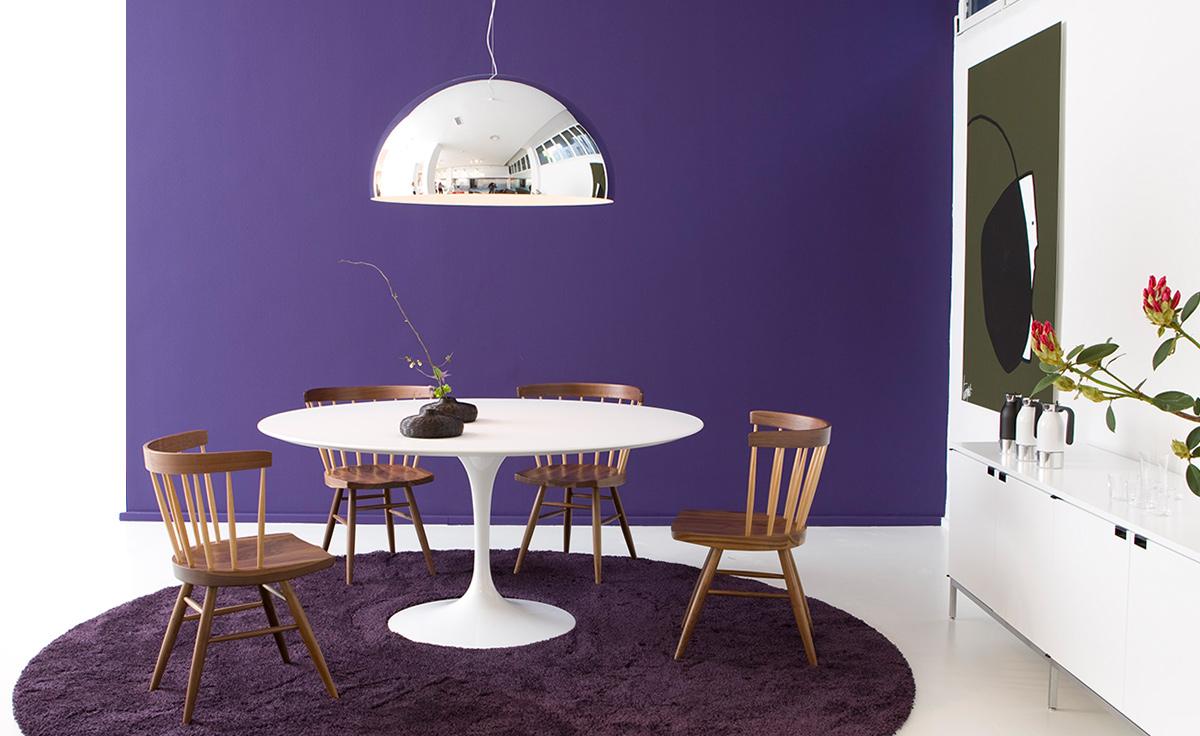 Saarinen Dining Table White Laminate  hivemoderncom