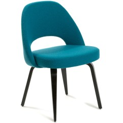 Knoll Saarinen Chair Club Slipcover Bed Bath And Beyond Executive Side With Wood Legs Hivemodern