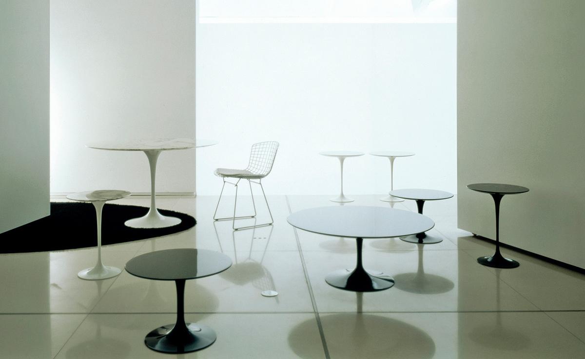 Saarinen Side Table Calacatta Marble  hivemoderncom