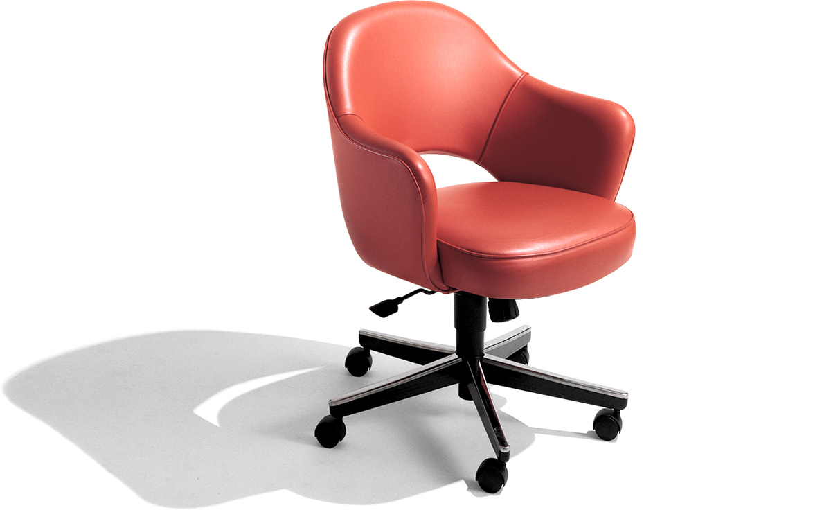 Saarinen Executive Swivel Arm Chair  hivemoderncom