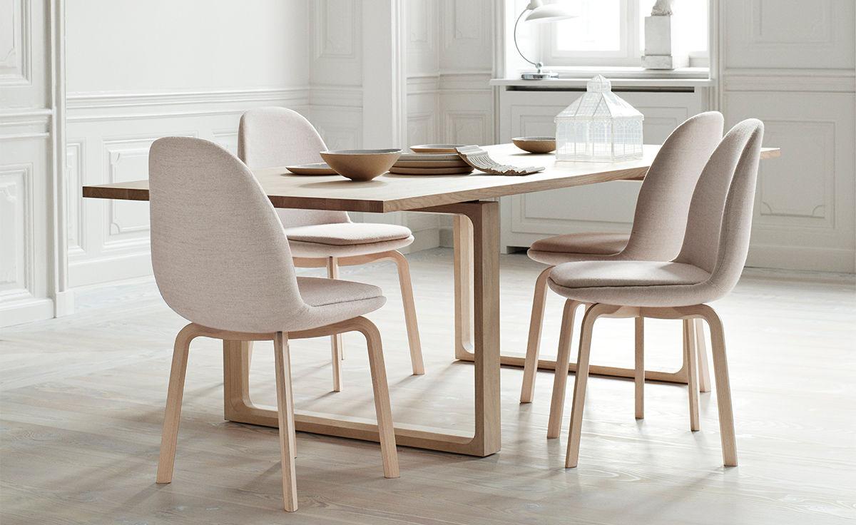 bertoia style chair beach canvas sammen dining - hivemodern.com