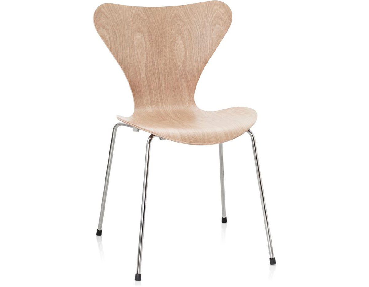 Fritz Hansen Chairs Series 7 Side Chair Wood Veneer