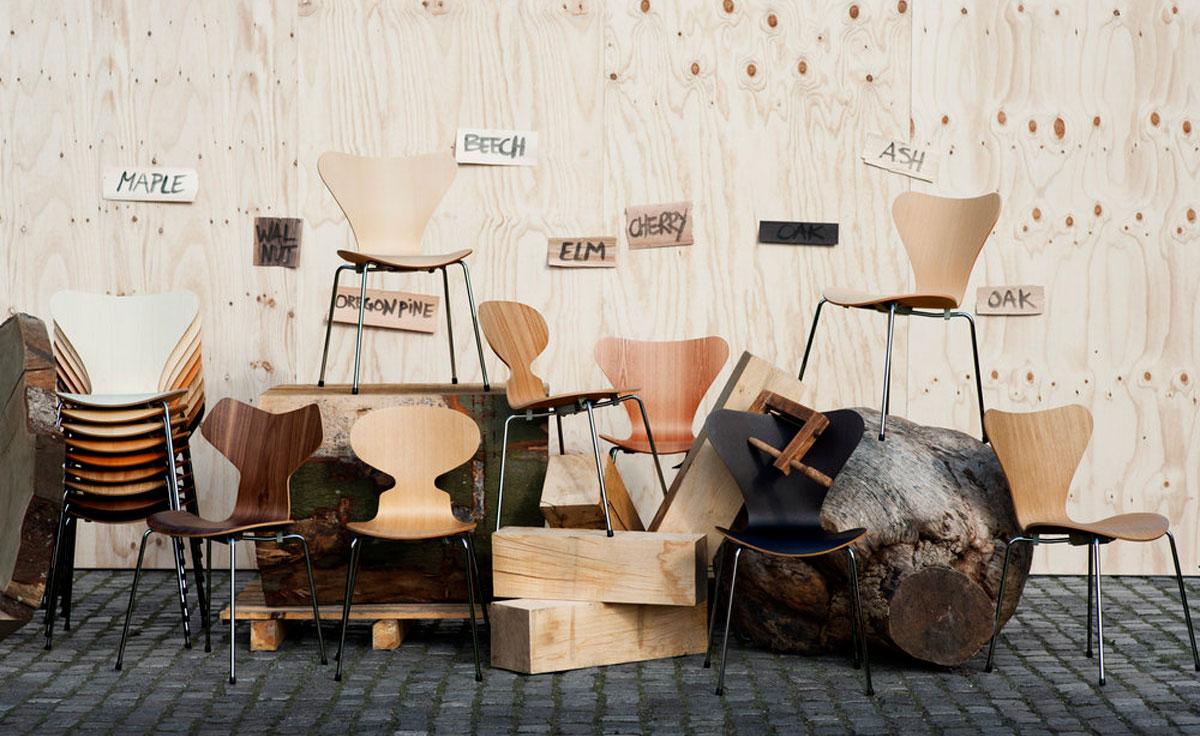 Series 7 Side Chair Wood Veneer  hivemoderncom