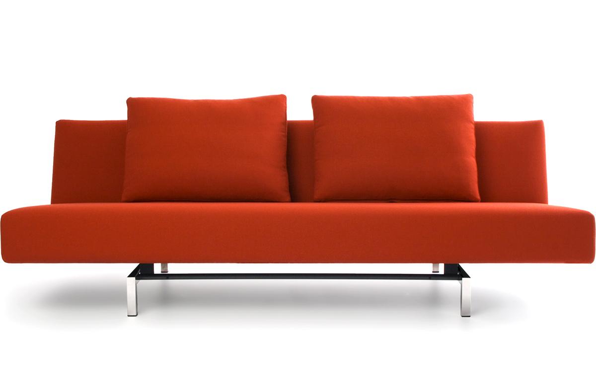 Sleeper Sofa With 2 Cushions  hivemoderncom
