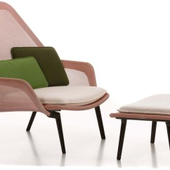Vitra Lounge Chair Wicker Desk Pottery Barn Slow Hivemodern Com By Bros Bouroullec From