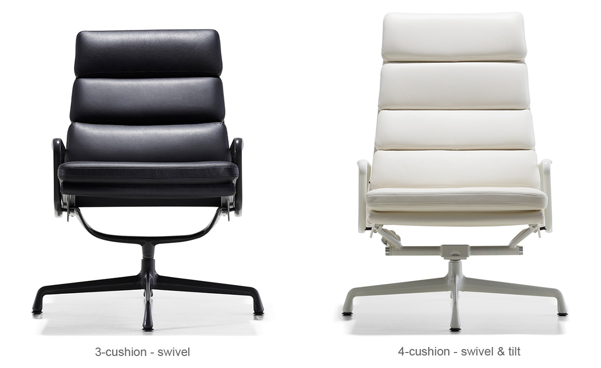 Eames Soft Pad Group Lounge Chair  hivemoderncom