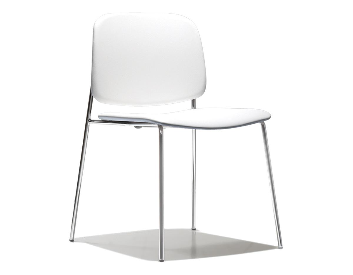 Sonar Upholstered Stacking Chair  hivemoderncom