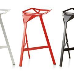 Bar Stool Chair Legs Art Deco Magis One Two Pack - Hivemodern.com