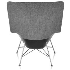 Jehs Laub Lounge Chair Lay Down Outside Striad High Back With Wire Base Hivemodern