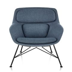 Jehs Laub Lounge Chair Homedics Massage Striad Low Back With Wire Base Hivemodern