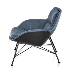 Jehs Laub Lounge Chair Exercise Ball Desk Striad Low Back With Wire Base Hivemodern