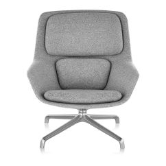 Jehs Laub Lounge Chair Lightweight Transport Chairs Striad Mid Back With 4 Star Base