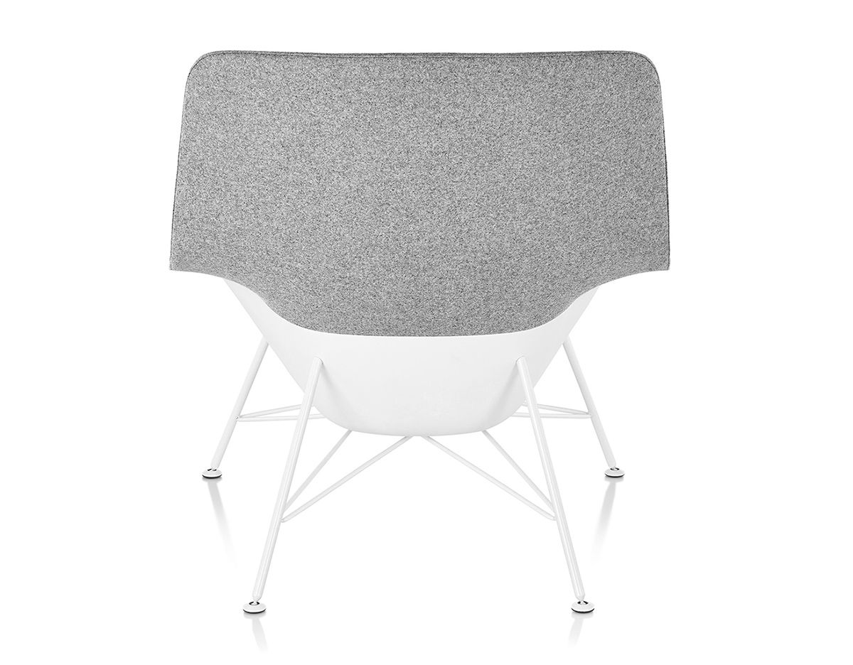 jehs laub lounge chair best office for lower back support striad mid with wire base hivemodern