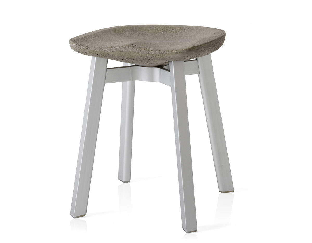 Small Stool Chair Su Small Stool With Concrete Seat Hivemodern
