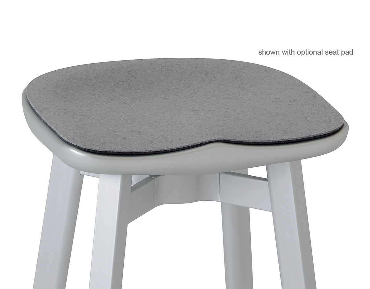 chair stool small bride and groom su with concrete seat hivemodern com