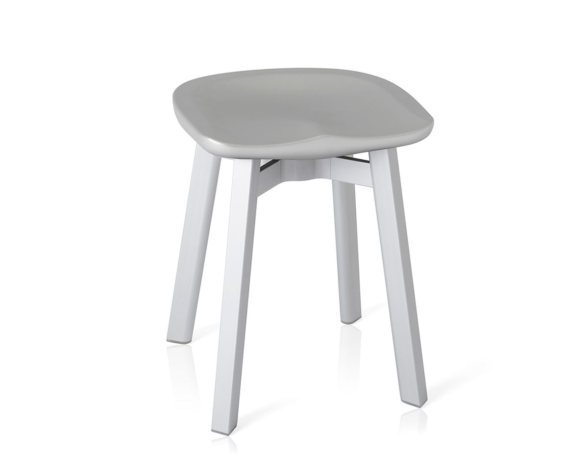 chair stool small design gold su with plastic seat hivemodern