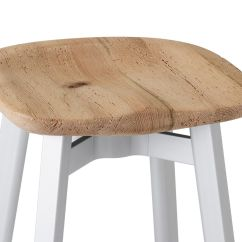 Chair Stool Small Flex Steel Chairs Su With Wood Seat Hivemodern Com