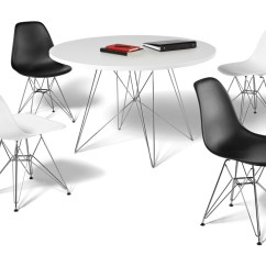 Plastic Resin Chairs Stressless Office Uk Tavolo Xz3 Round Table - Hivemodern.com