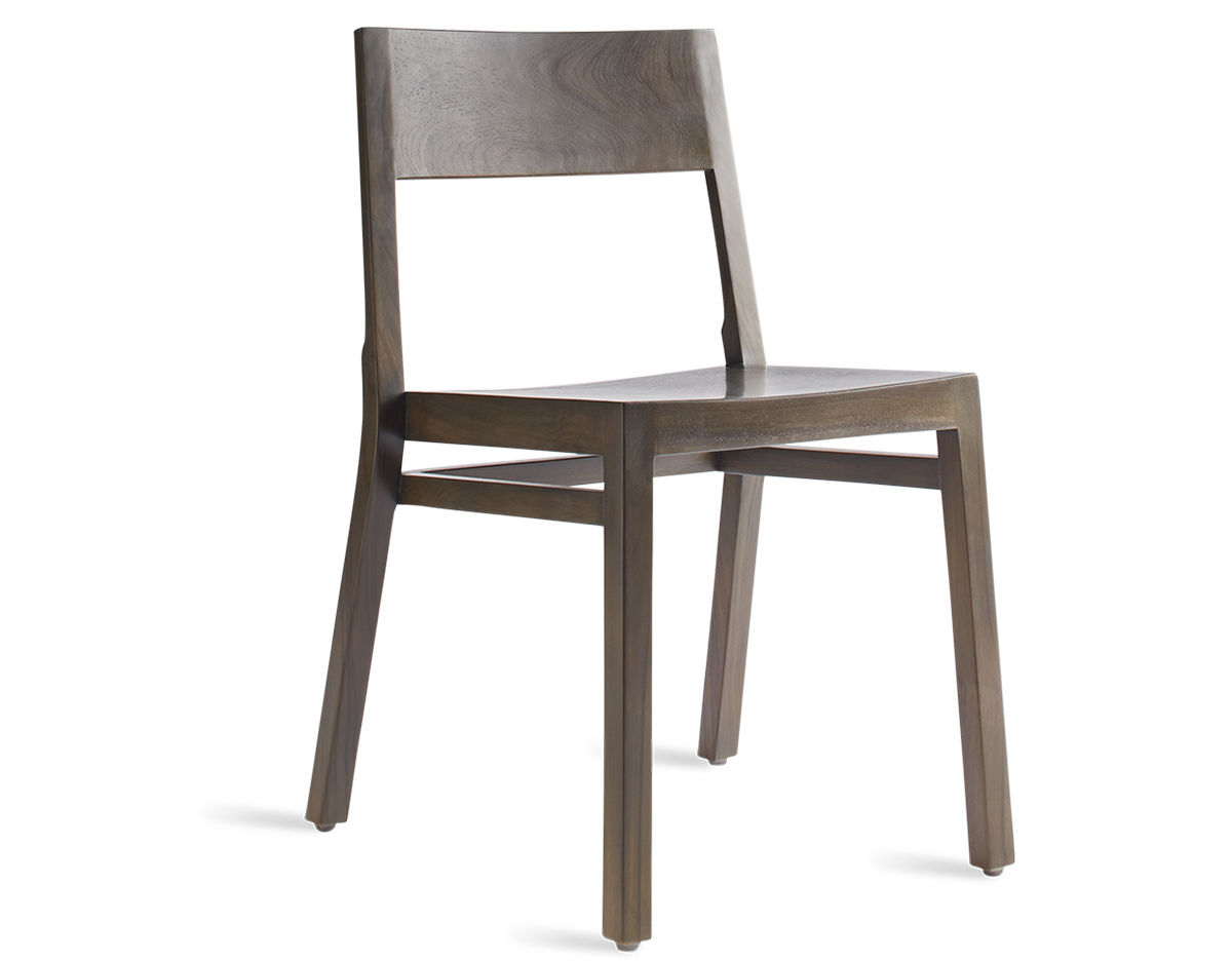 Stacking Dining Chairs Timber Stackable Dining Chair Hivemodern