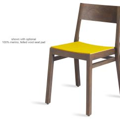 Stackable Dining Room Chairs Student Desk With Chair Timber Hivemodern