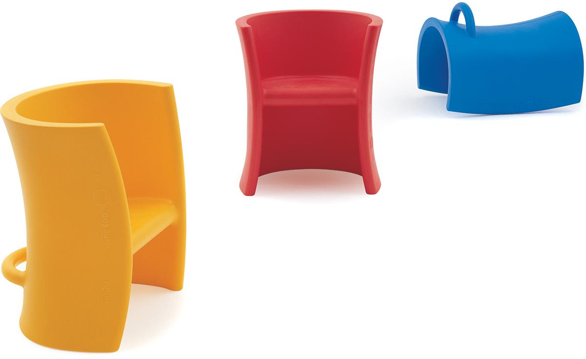 Magis Trioli Childrens Chair  hivemoderncom