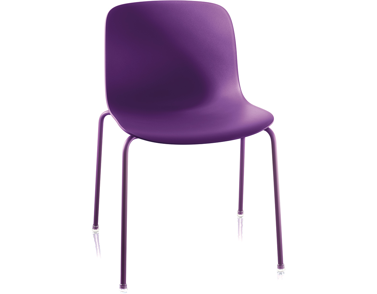 Plastic Stacking Chairs Magis Troy Plastic Stacking Side Chair Two Pack