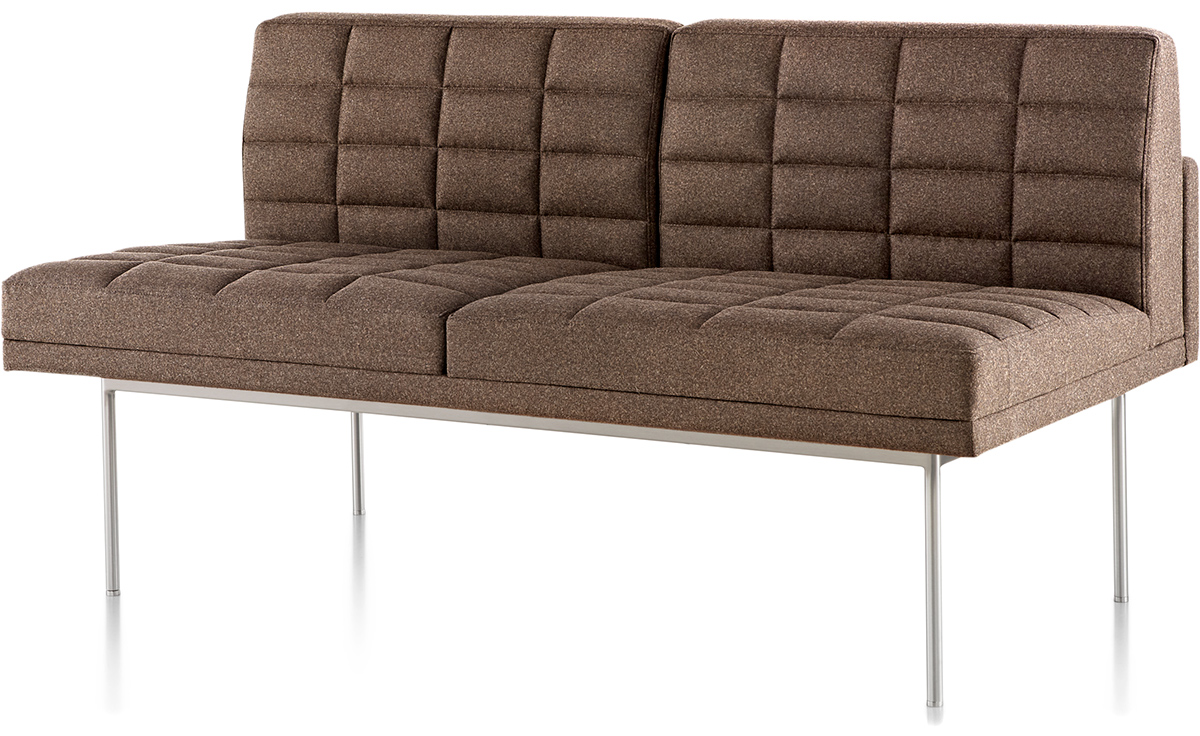 herman miller tuxedo sofa sleeper on wheels settee without arms hivemodern com