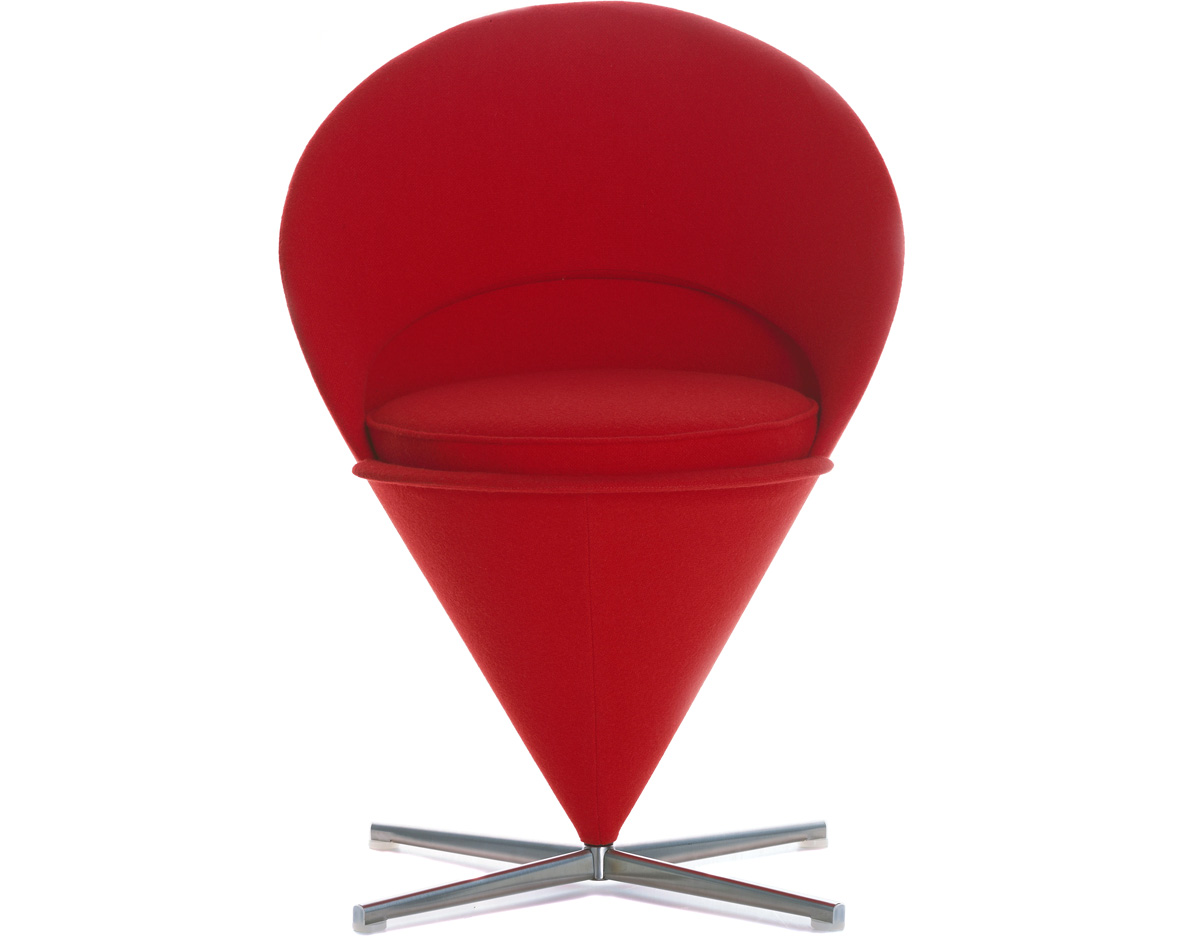 patio furniture rocking chair dining room covers for sale verner panton cone - hivemodern.com