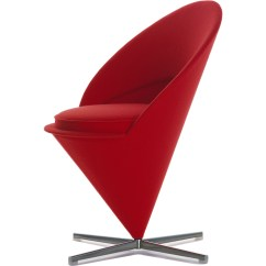 Vernon Panton Chair Qd Swing Verner Cone Hivemodern Com