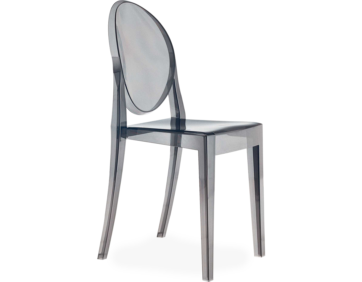 Victoria Ghost Side Chair 2 Pack  hivemoderncom