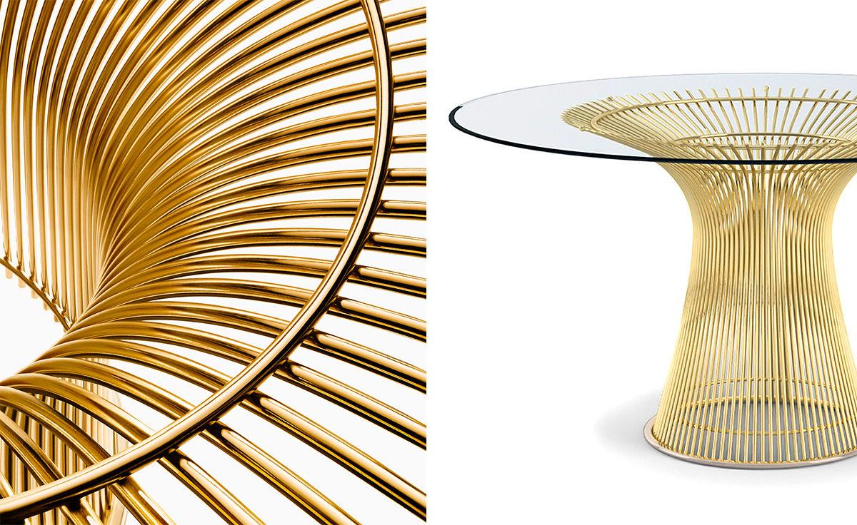 circular sofas serta upholstery sofa reviews platner gold plated dining table - hivemodern.com