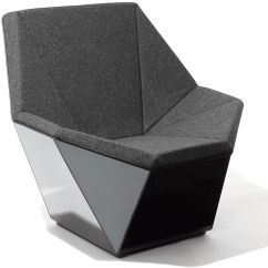 White Stacking Chairs Plastic Glider Rocking Chair Baby Bunting Washington Prism™ Lounge - Hivemodern.com