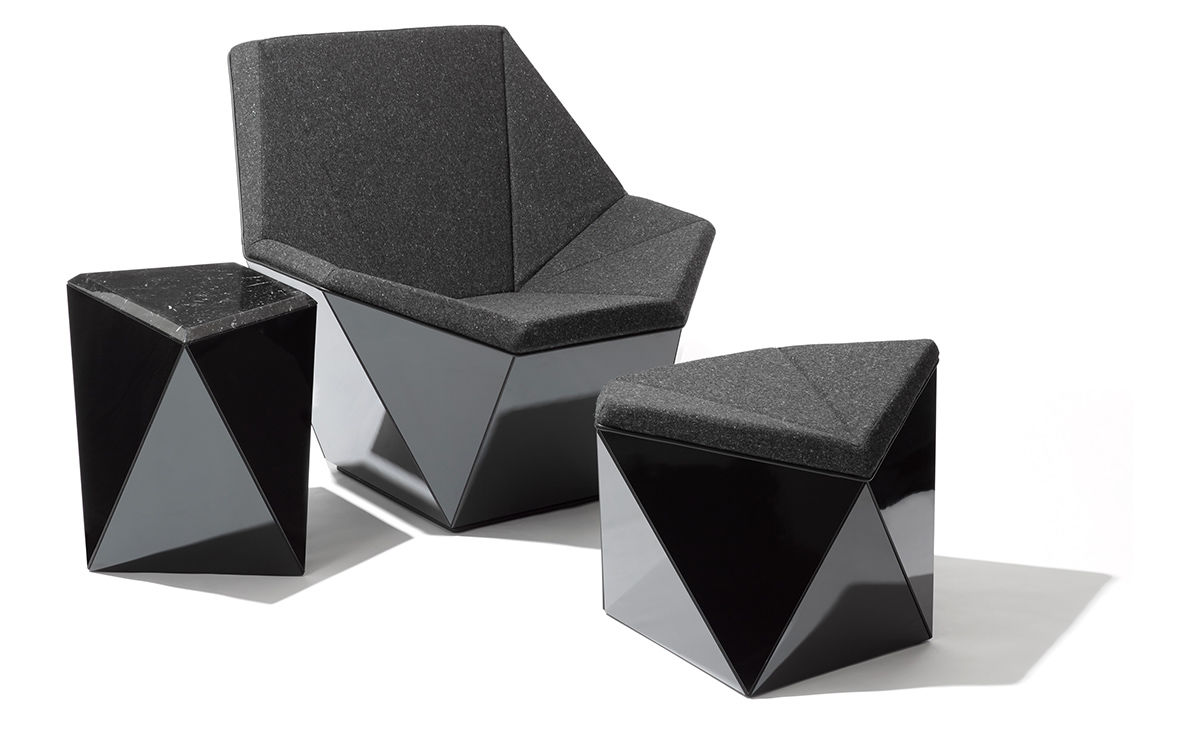 Washington Prism Lounge Chair  hivemoderncom
