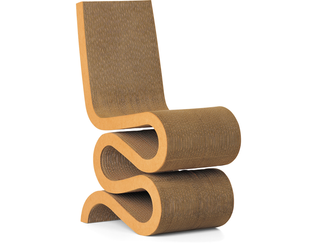 frank gehry cardboard chair shower home depot wiggle hivemodern