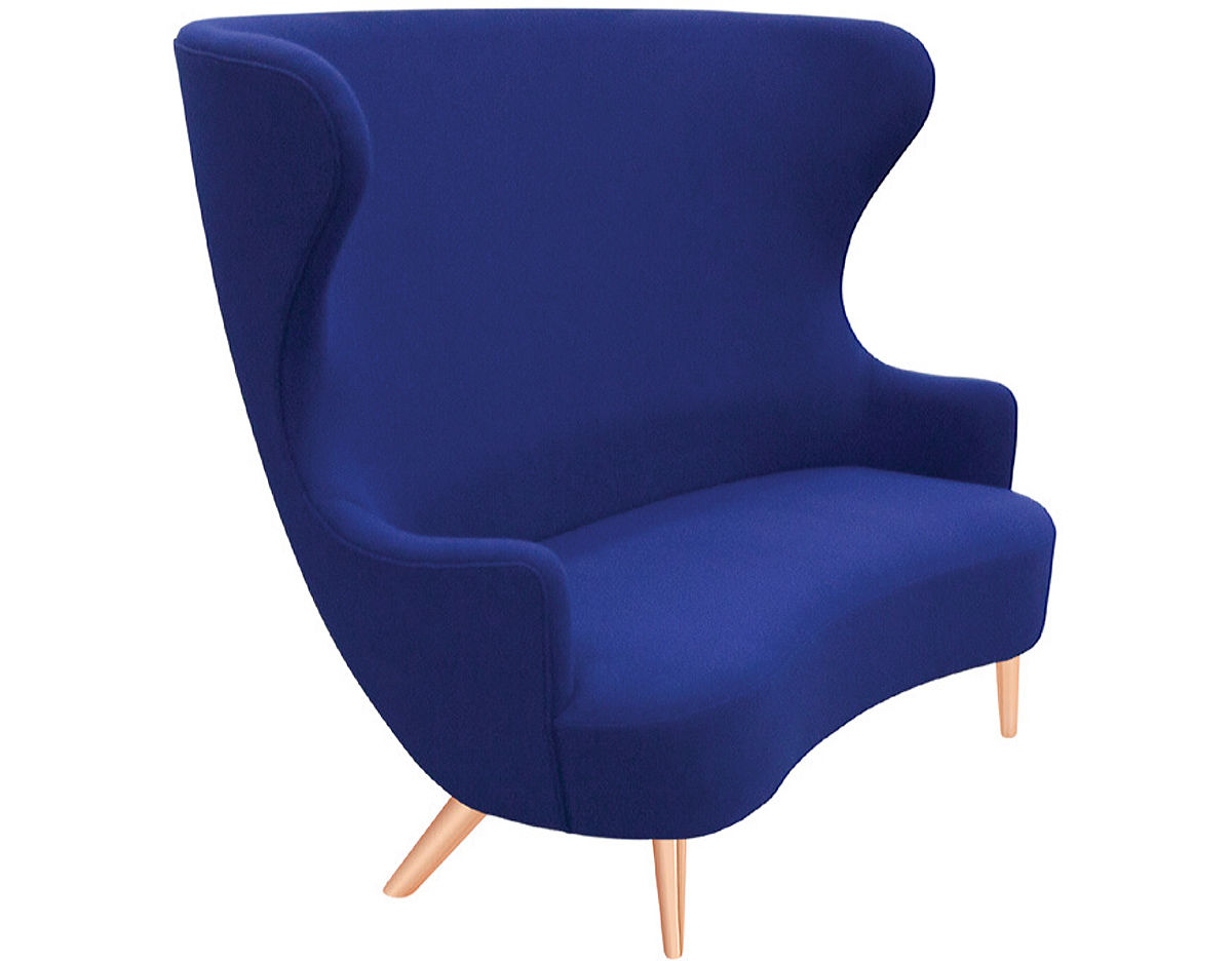 tom dixon wingback chair hang around target 2 seat sofa hivemodern