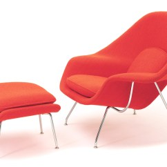 Knoll Saarinen Chair Daycare Table And Chairs For Sale Womb Lounge Ottoman Hivemodern