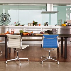 Aluminum Lounge Chairs Yellow Kids Chair Wood Table - Hivemodern.com