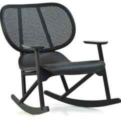 Rocking Chair Cane Swivel Seat Post Bushing Klara With Back Hivemodern Com