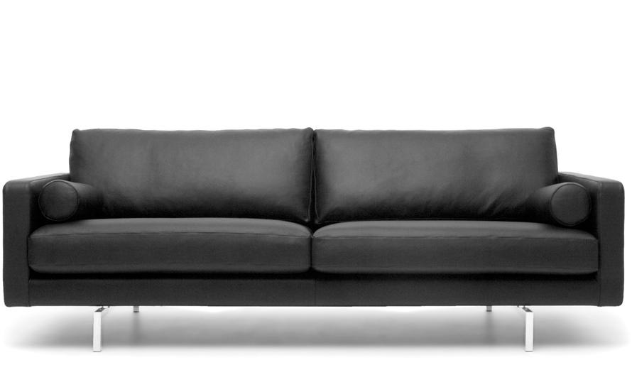 bensen lite sofa roche bobois leather 3 seat - hivemodern.com