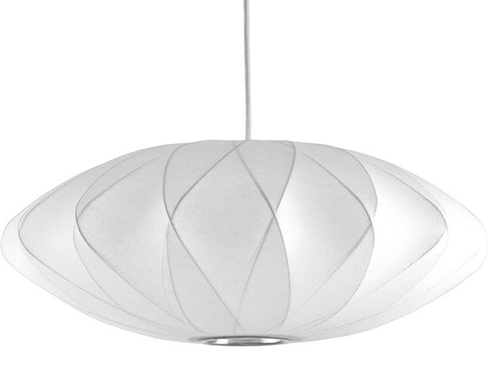 Nelson Bubble Lamp  Criss Cross Saucer  hivemoderncom