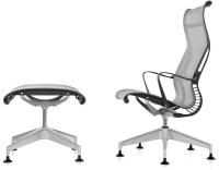 Setu Lounge Chair & Ottoman - hivemodern.com