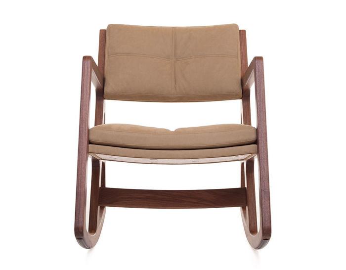 Sleepy Blind Tufted Rocking Chair 273  hivemoderncom