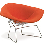 bertoia diamond chair cover replacement theater chairs rooms to go stool with seat cushion - hivemodern.com