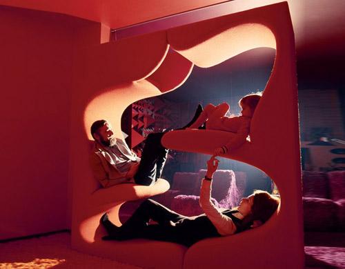 Verner Panton Living Tower  hivemoderncom