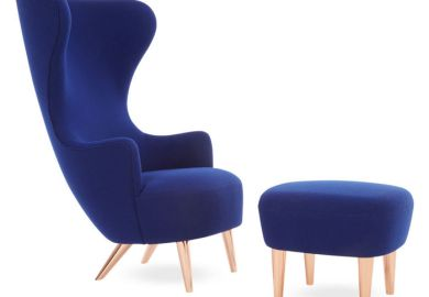 Modern Wingback Dining Chair